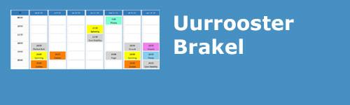 Uurrooster Brakel