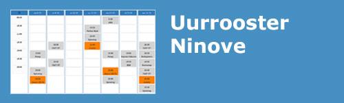 Uurrooster Ninove