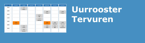 Uurrooster Tervuren